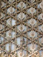 Wood Chrysanthemums on Naesosa Temple Door