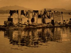 Women Doing Laundry in Han River