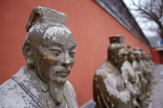 Statues at the Temple of Confucius
