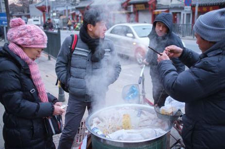 Street Food Vendor in Bejing