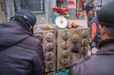 Sweet Potato Street Vendor