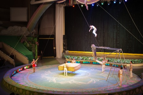 The People's Circus' Acrobats