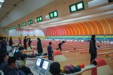 Golden Lane Bowling Alley in Pyongyang