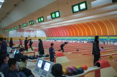 Golden Lane Bowling Alley in Pyongyang