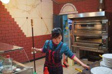 North Korean Pizza Chef