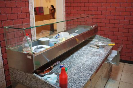 Pizza Preparation Table