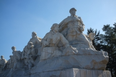 Statues at Revolutionary Martyrs' Cemetery