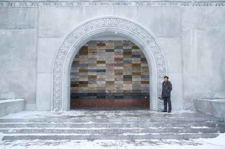 Entrance of the Juche Tower