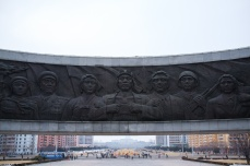 Inside the Monument to the Foundation of the Korean Workers Party