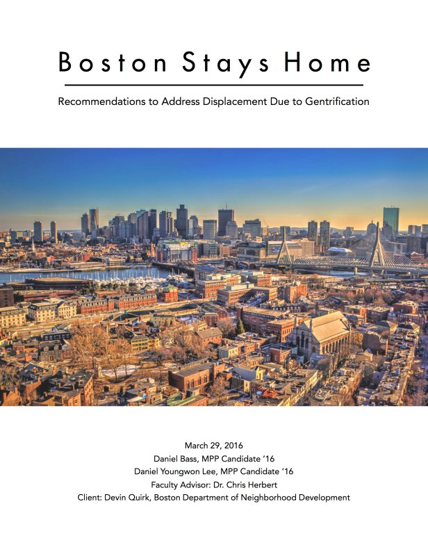 Boston Stays Home Cover